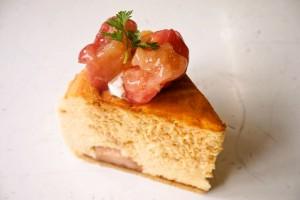 アップルキャラメルチーズケーキ