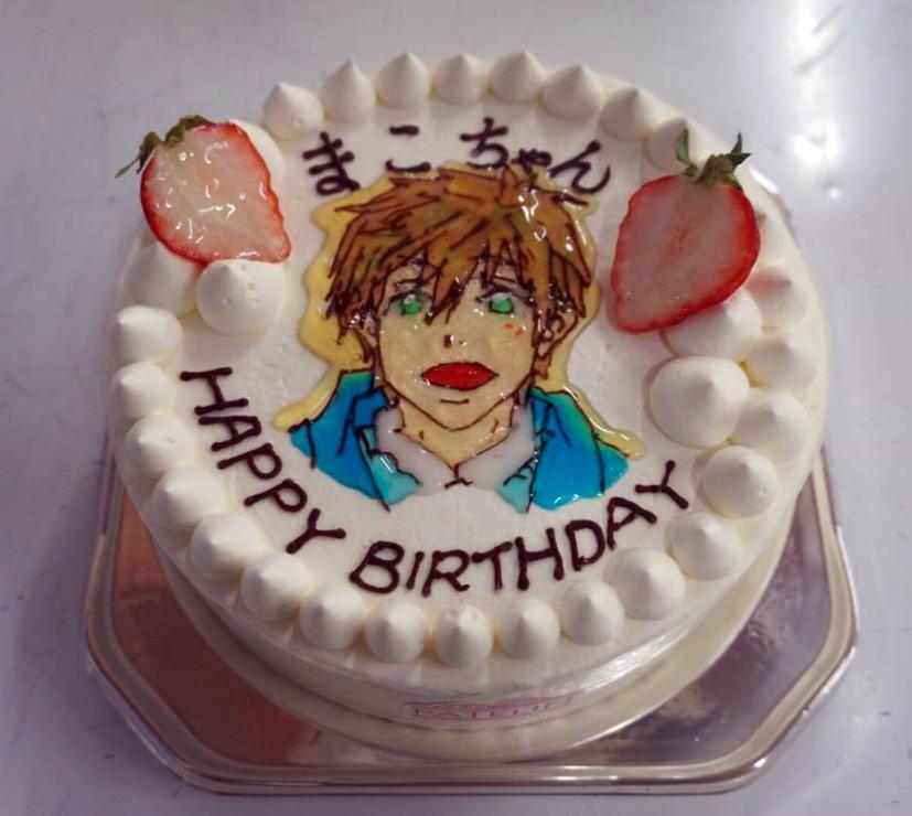 お絵かきデコレーションケーキ