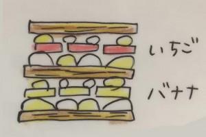 ミルフィーユデコレーションケーキ