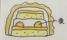 モンブランデコレーションケーキ